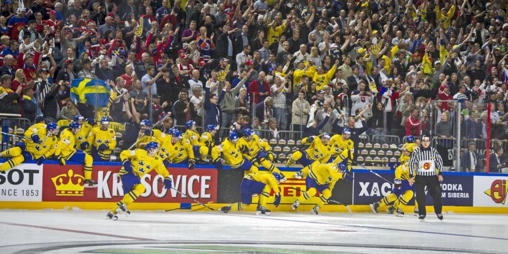 Sverige vinner hockey VM 2017 efter straffar mot Kanada