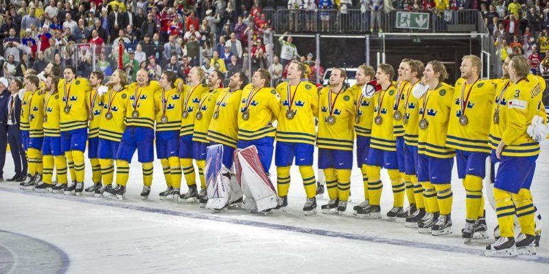 Sverige firar VM guldet 2017