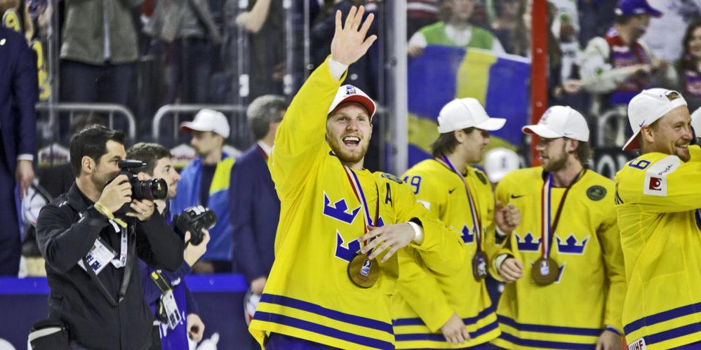 Gabriel Landeskog vid VM 2017
