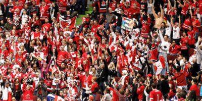 kanadensiska hockeyfans