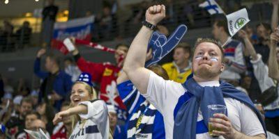Hockey-VM finska fans