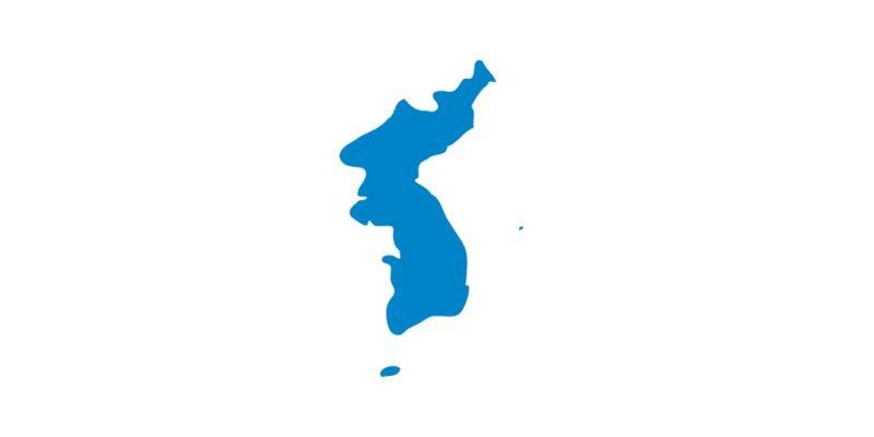 Korea flagga