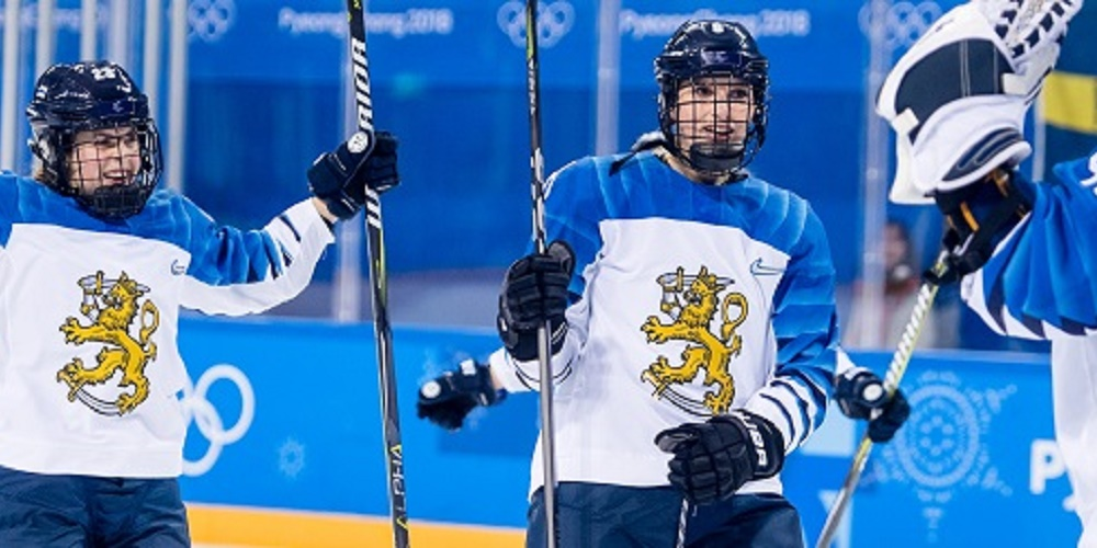 Finland damer i OS 2018