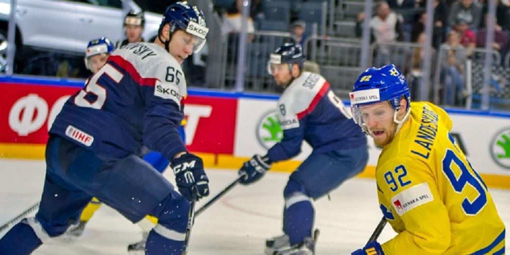 Tre Kronor VM-laddar mot Slovakien - Hockey-VM 2020 i Schweiz