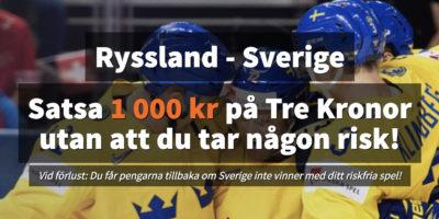 Ryssland Sverige Riskfritt Spel