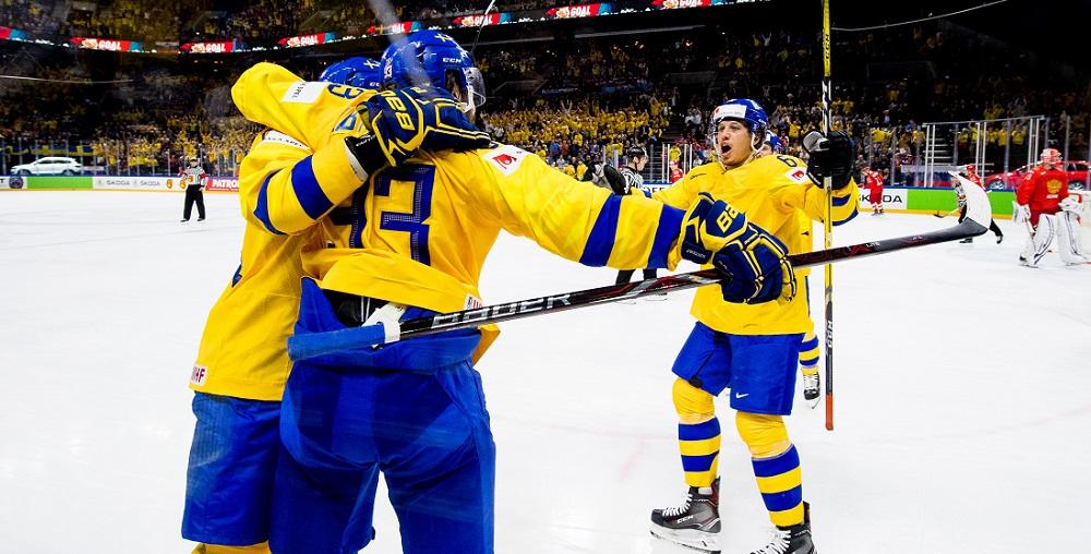 Vinst i gruppfinalen mot Ryssland - Hockey - VM 2019 i Slovakien 3f2cd4c3b9170