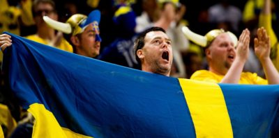 Sverige - Lettland hockey VM 2018
