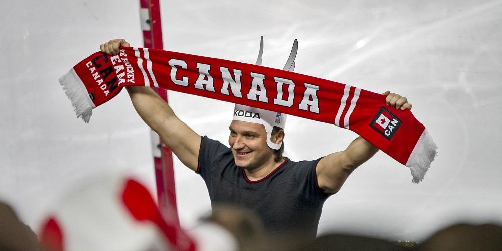 Kanadensisk supporter