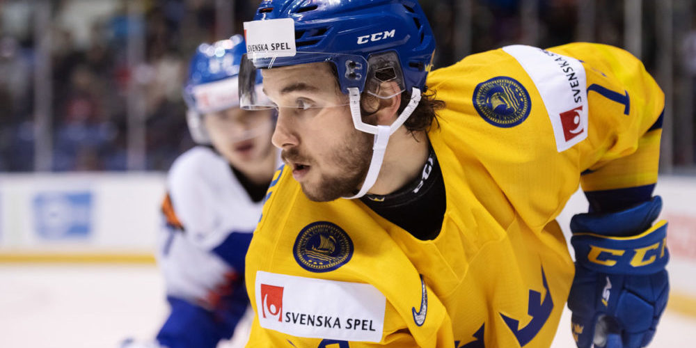Emil Bemström, forward från Sverige