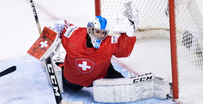 Schweiz målvakt Luca Hollenstein