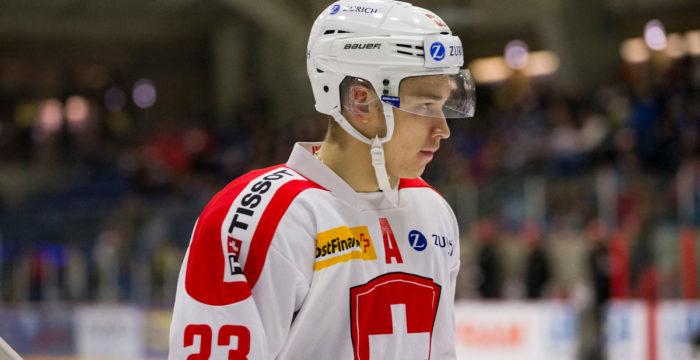 Phillip Kurashev, forward från Schweiz