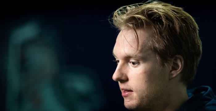 Rasmus Sandin, back från Sverige
