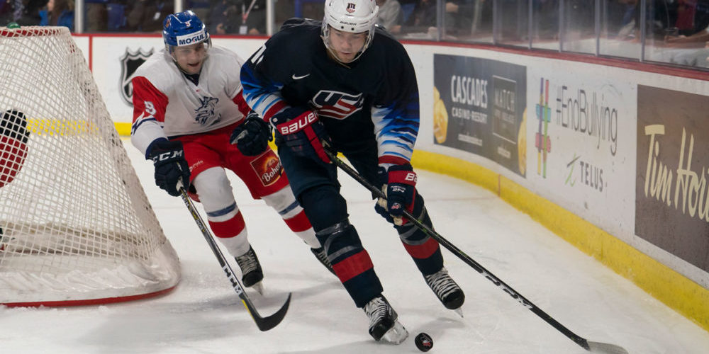 Ryan Poehling, forward från USA