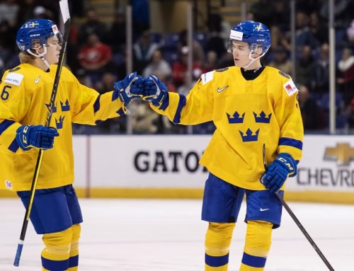 Sverige blev femma i JVM 2019