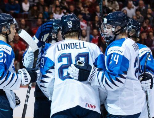 Finland segrare i Carlson Hockey Games