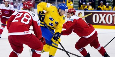 Danmark och Sverige i hockey VM