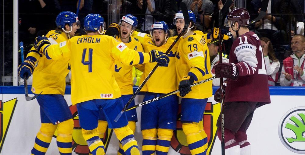Tre Kronor firar