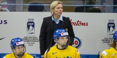 Svenska damlandslaget i hockey vm 2019 i Finland