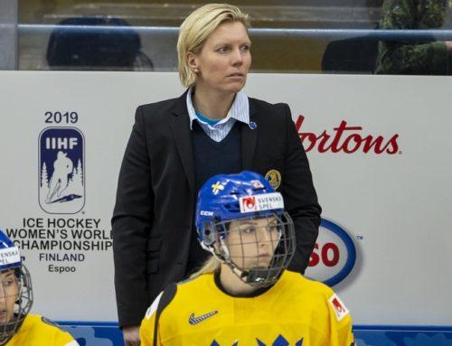 Damkronorna diskas från Euro Hockey Tour