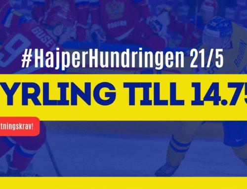 SPELTIPS 21/5: #HajperHundringen | Sista chansen!