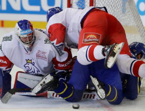Förlust mot Tjeckien i Carlson Hockey Games