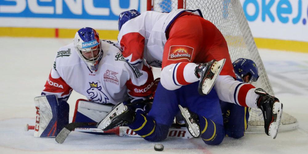 Carlson Hockey Games, Tjeckien - Sverige