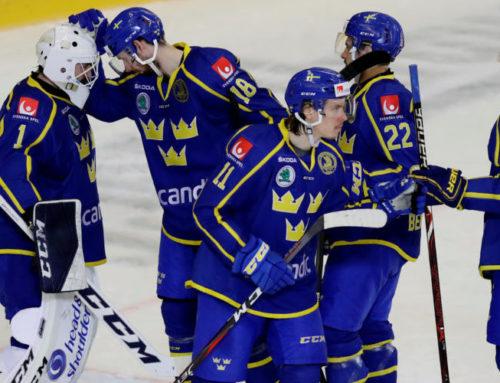 Vinst mot Finland i Carlson Hockey Games