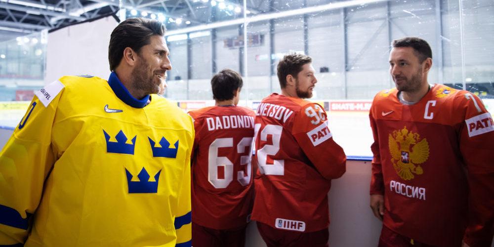 Henrik Lundqvist & Ilya Kovalchuk