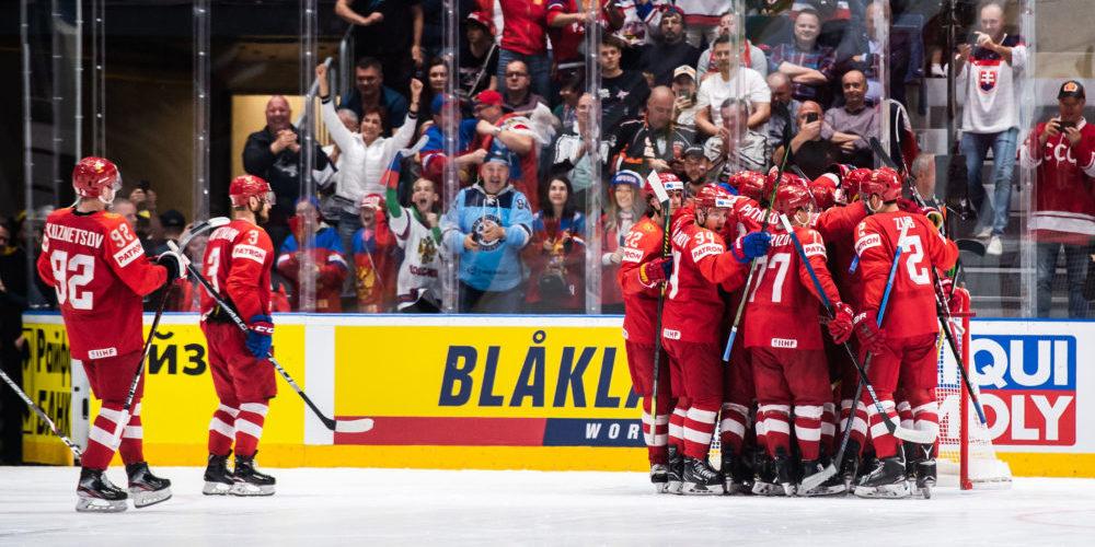 Ryssland vinner brons i vm 2019