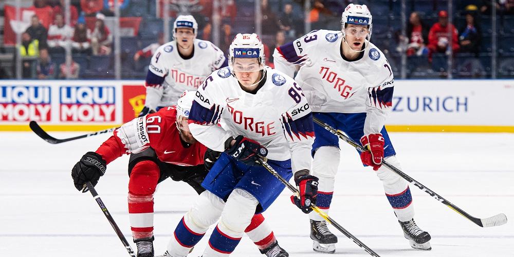 Norges landslag i hockey VM 2019