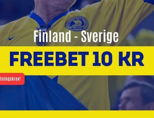 Gratis spel på Finland-Sverige