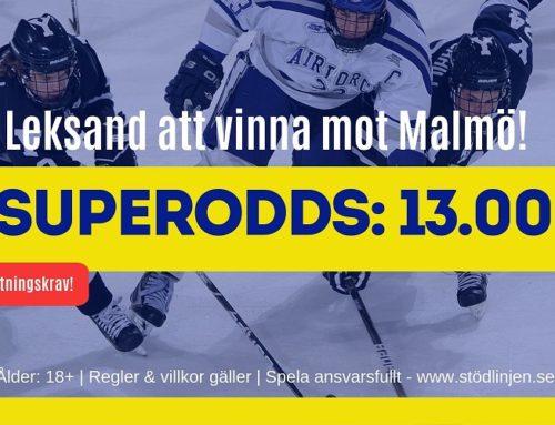 SUPERODDS: 14/9: Leksand – Malmö