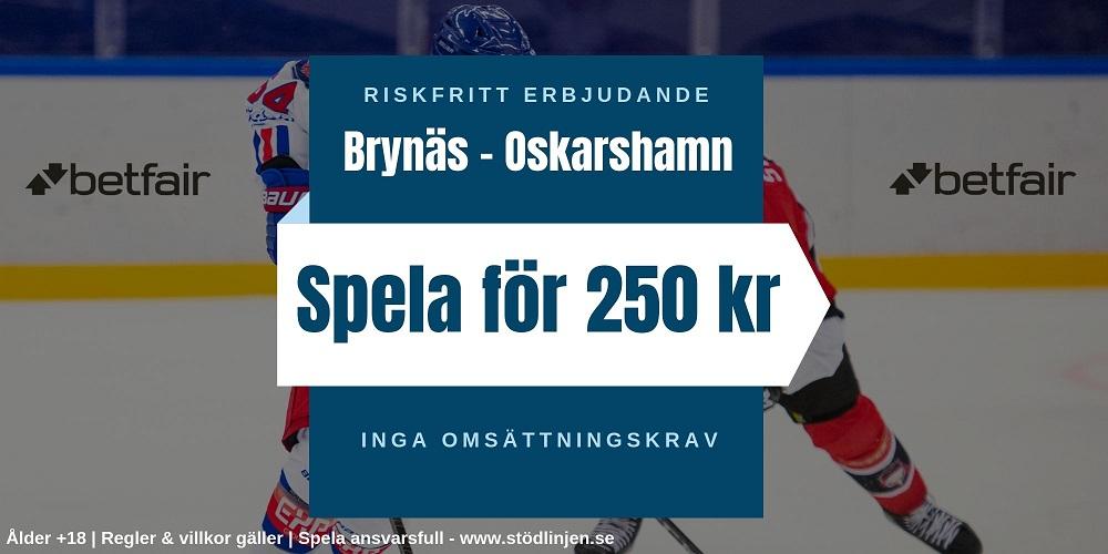 Riskfritt Brynäs-Oskarshamn