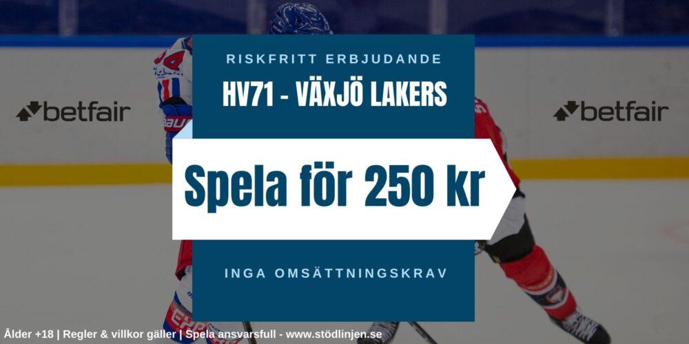 Riskfritt HV71-Växjö