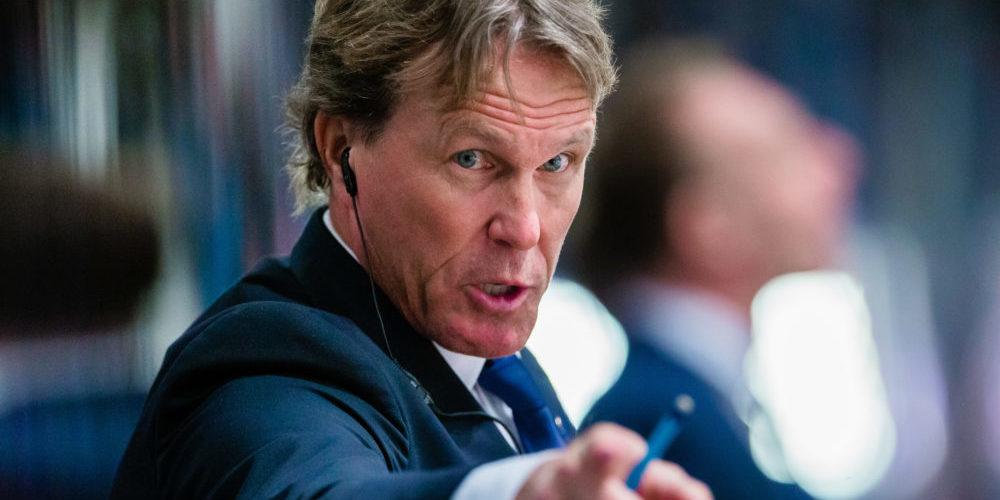 Coach Johan Garpenlöv