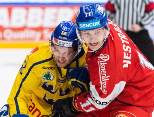 En svag inledning av Tre Kronor i Karjala Cup