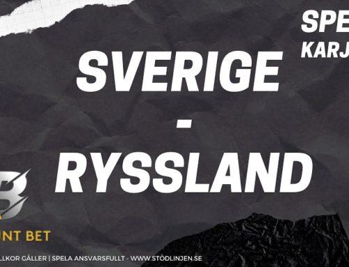 SPELTIPS 9/11: Sverige – Ryssland | Karjala Cup