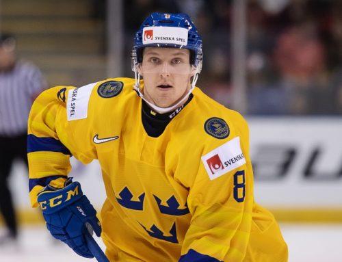 Rasmus Sandin uppkallad till Toronto Maple Leafs och NHL efter JVM-succén