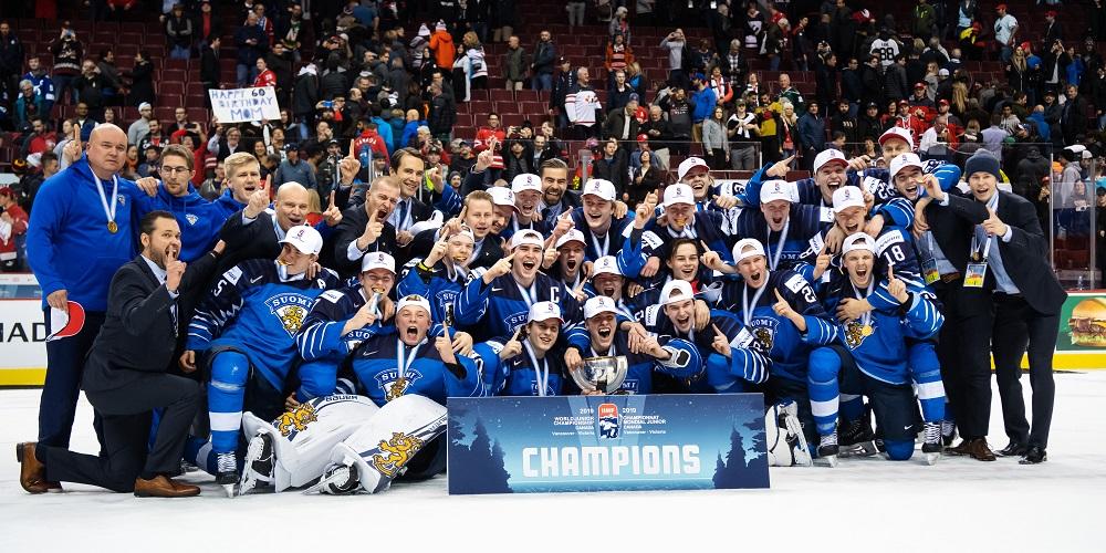 Finland vinner JVM 2019