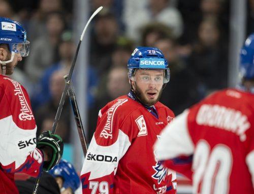 Tjeckiens trupp till Channel One Cup
