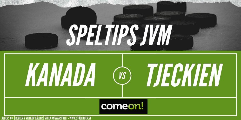 Speltips Kanada-Tjeckien Comeon