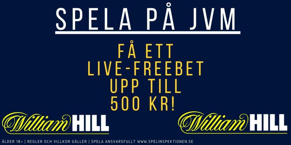 William Hill JVM kampanj