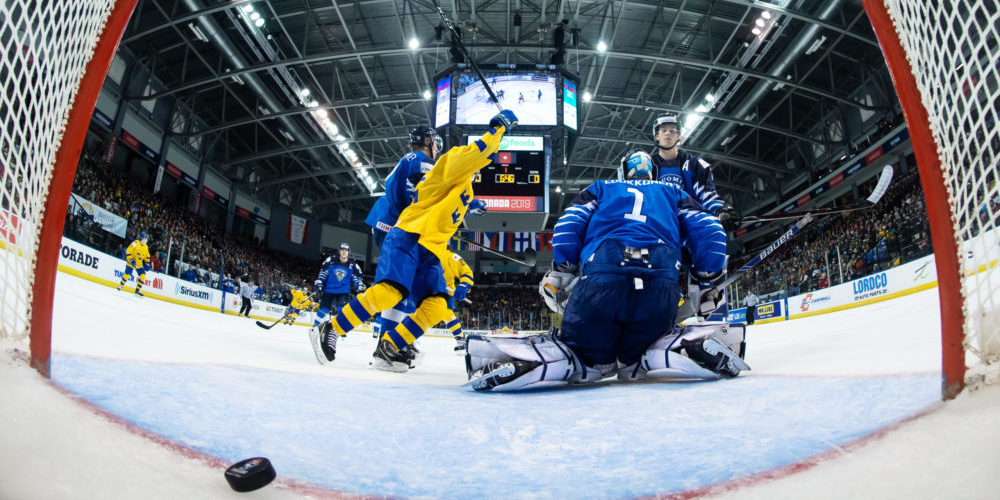 2019 IIHF World Junior Championship, day 1, Finland - Sweden
