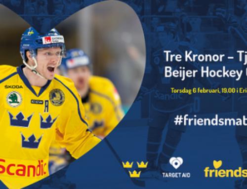 Svenska Ishockeyförbundet i samarbete med organisationen Friends under Beijer Hockey Games