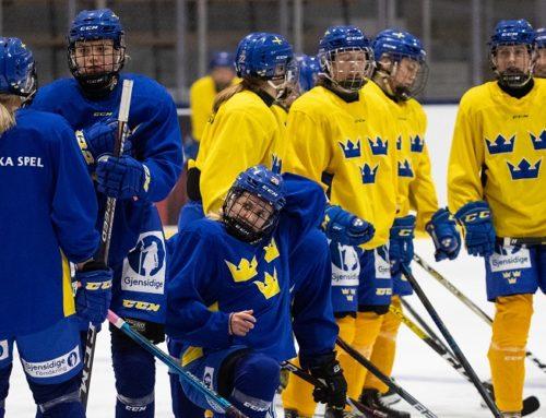 Damkronornas trupp till Euro Hockey Tourslutspelet