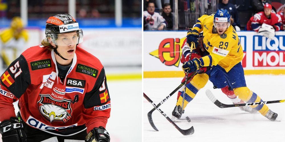 Mario Kempe och Emil Sylvegård