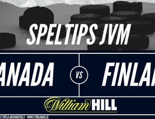 Speltips 4/1: Semifinal | Kanada – Finland