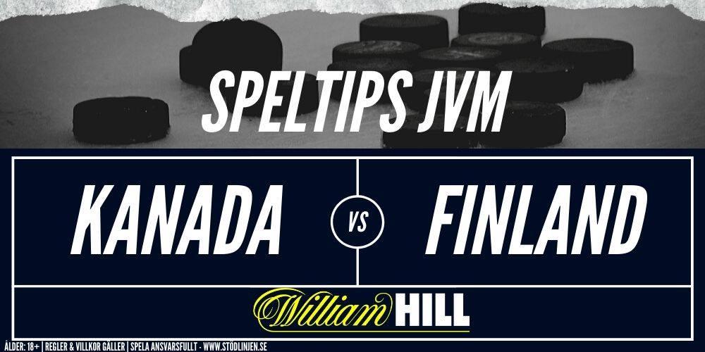Speltips Kanada-Finland William Hill