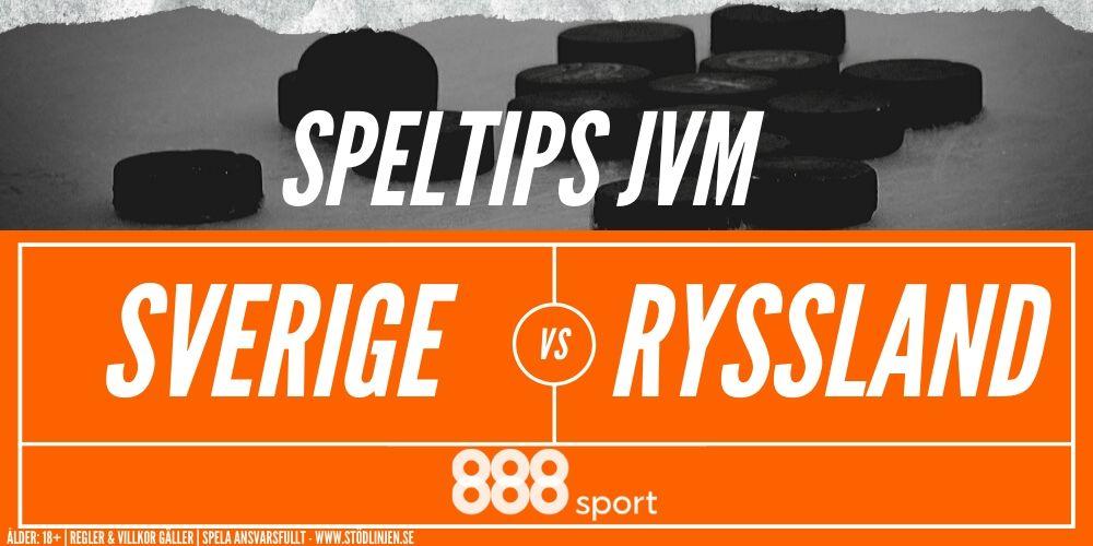 Speltips Sverige-Ryssland 888 Sport