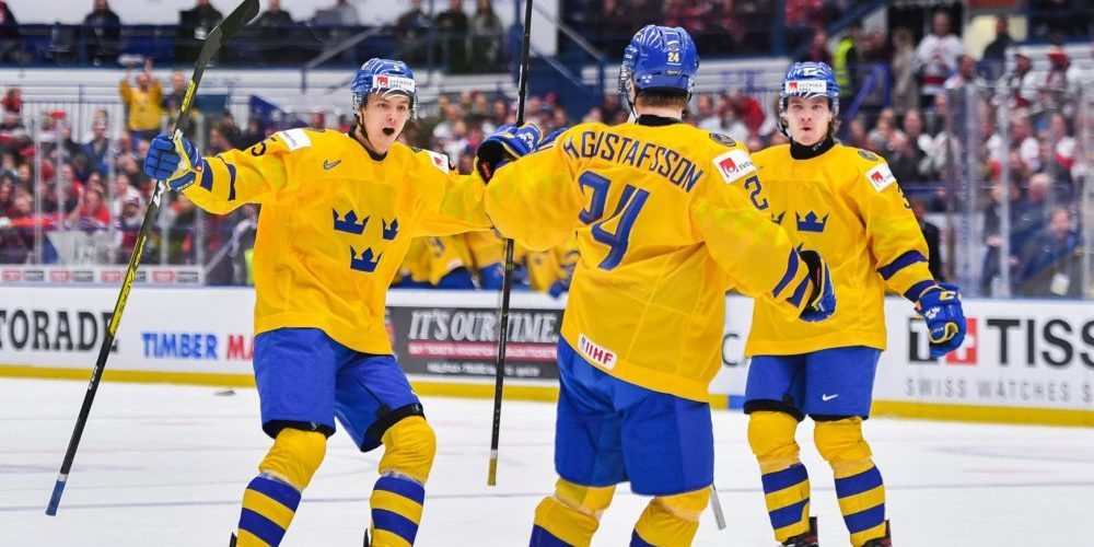 2020 IIHF World Junior Championship, day 8, quarterfinal, Sweden - Czech Republi